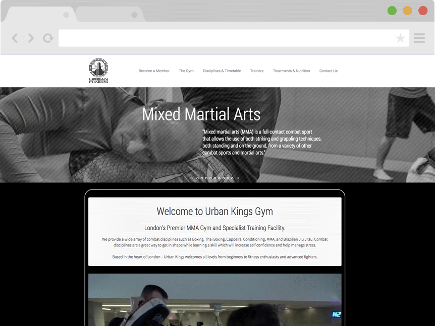 urban-kings-gym-web-design